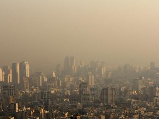 Pic de pollution en Iran