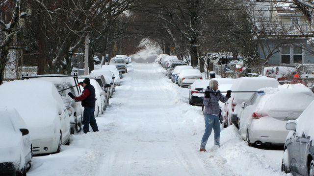 Vague de froid historique aux États-Unis et au Canada