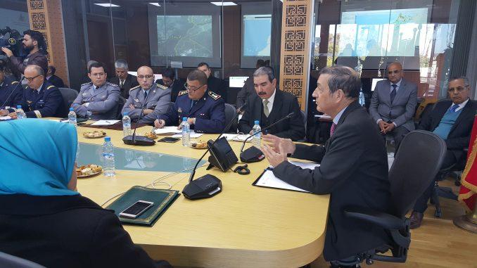 Réunion du Comité Directeur chargé de la Prévention et de la Lutte Contre les Incendies des forêts le 21 décembre 2017