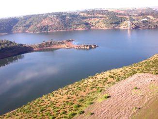 Le barrage Sidi Mohammed Ben Abdallah