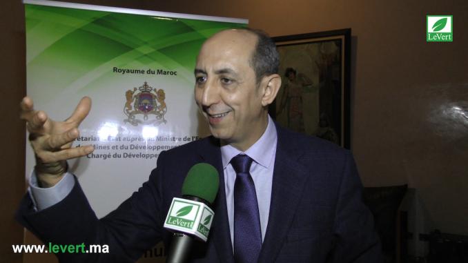 Mohammed BENYAHIA, Secrétaire Général du Secrétariat d'État charge du Développement Durable