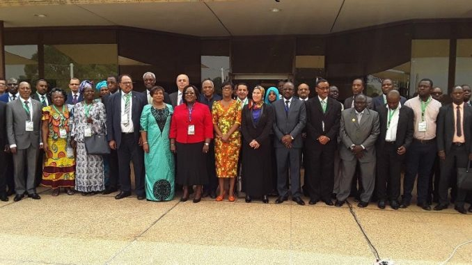 uelque 25 pays signataires de la deuxième Conférence des Parties à la Convention de Bamako (COP2) sont réunis