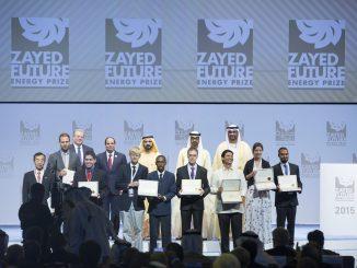 Le prix Zayed Future Energy