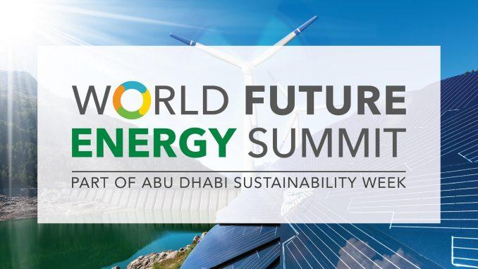World Future Energy Summit à Abu Dhabi