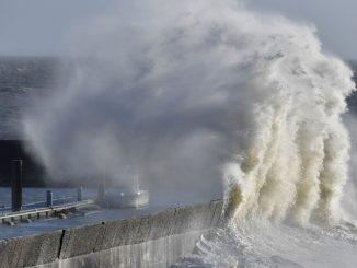 Intempéries :La tempête Eleanor traverse la France
