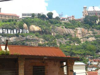 Antananarivo capitale de Madagascar