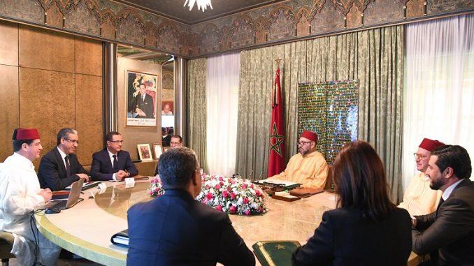 S.M le Roi Mohammed VI préside une séance de travail sur les énergies renouvelables