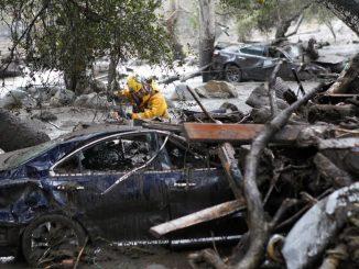 Coulées de boue : 17 morts en Californie