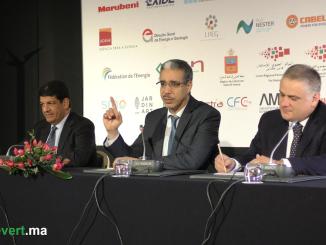 وزير الطاقة والمعادن والتنمية المستدامة السيد عزيز رباح