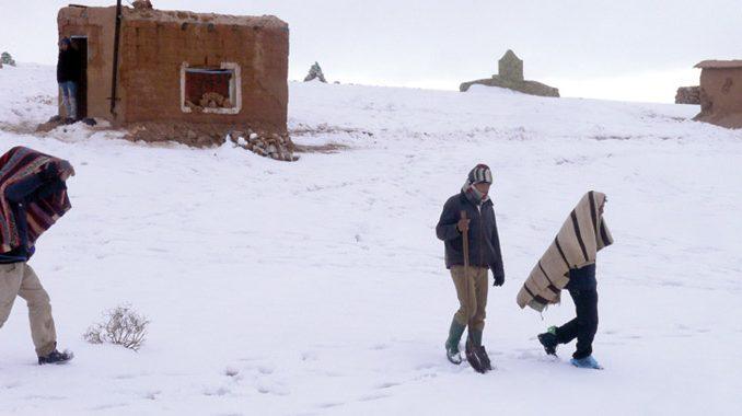 Maroc : des villages isolés à cause de la vague de froid
