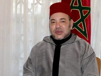 Sa Majesté le Roi Mohammed VI.