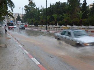 Souss Massa : A cause de la météo défavorable, plusieurs axes routiers coupés