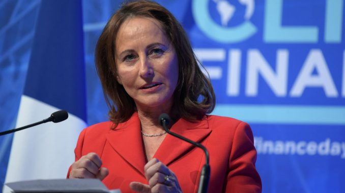 Ségolène Royal, ambassadrice de l'Alliance solaire
