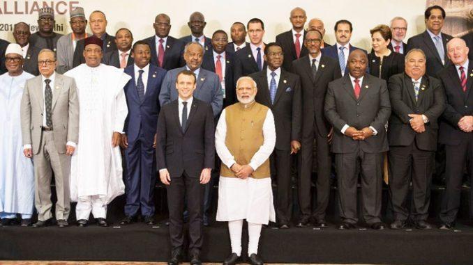 Qu'attendre de la visite de Macron en Inde — Alliance Solaire Internationale