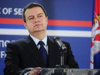 Le ministre serbe des Affaires étrangères, Ivica Dacic