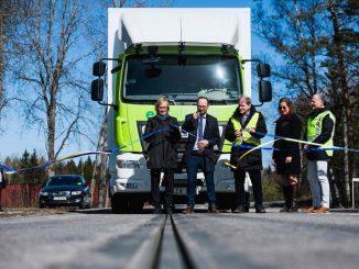 La Suède inaugure la première route électrifiée au monde