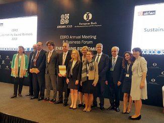 """Le Maroc remporte le prix """"EBRD Sustainability awards 2018"""""""