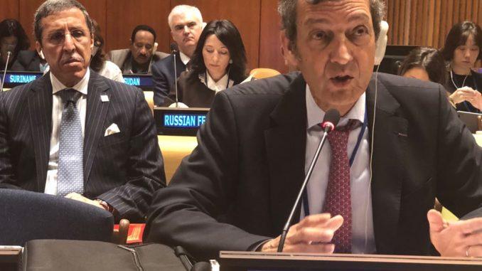 Abdeladim LHAFI expose au siège des Nations Unies à New York