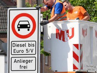 Diesel: première interdiction de circuler à Hambourg en Allemagne