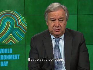 Message du Secrétaire général de l'ONU, António Guterres, pour la journée mondiale de l'environnement