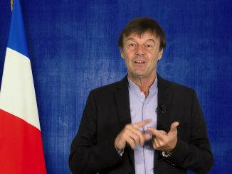 Le ministre français de la Transition écologique et solidaire Nicolas Hulot