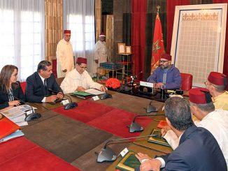 SM le Roi Mohammed VI a présidé une réunion consacrée à la problématique de l'eau