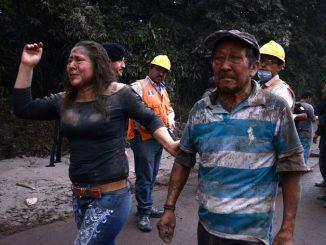Eruption d'un volcan au Guatemala: des milliers de personnes évacuées