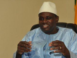 Le ministre malien de l'Energie et de l'Eau, Malick Alhousseini