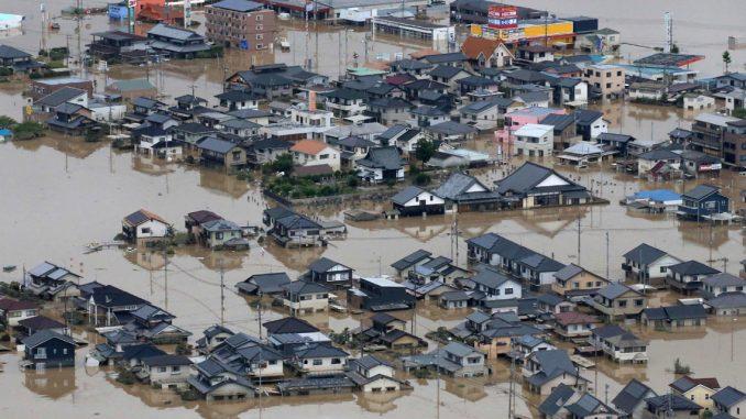 Intempéries au Japon: le bilan passe à 141 morts