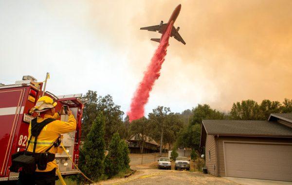 un Boeing 747 pour lutter contre les feux de forêt.