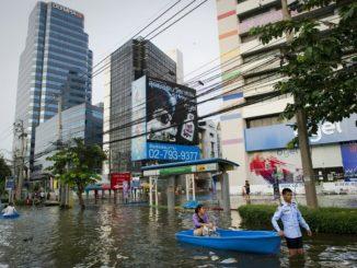 Bangkok pourrait être en partie submergée d'ici à 2030