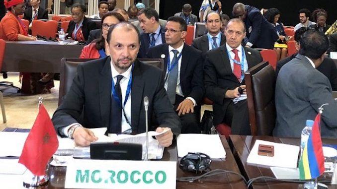 Ministre délégué auprès du ministre des Affaires étrangères et de la coopération internationale chargé de la coopération africaine