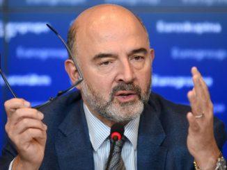 le commissaire européen chargé des affaires économiques et financières, fiscalité et douanes, Pierre Moscovici.