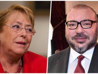 SM le Roi félicite Michelle Bachelet