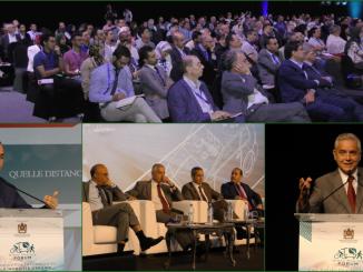 rencontre internationale sur la mobilité verte au Maroc le 25 septembre 2018 à Marrakech.