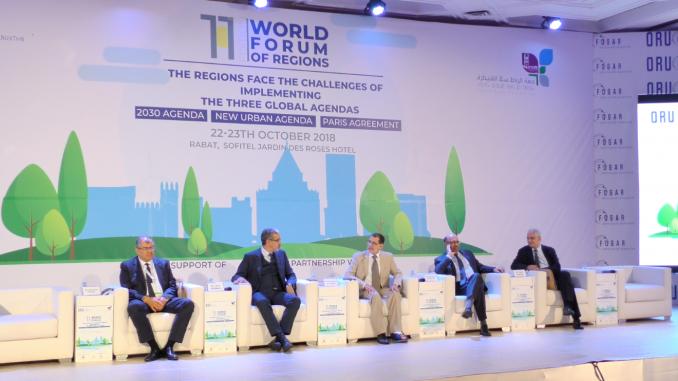 la 11-ème édition du Forum mondial des régions.