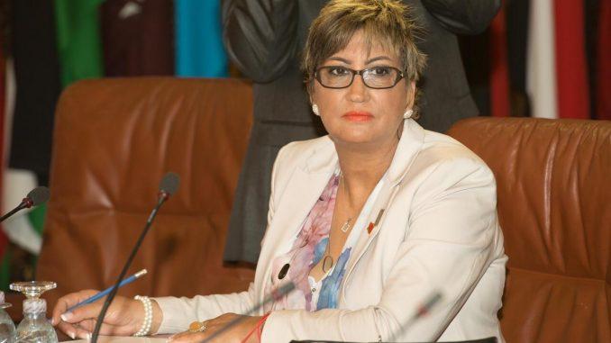 Fatiha Othmane, membre du Conseil d'administration des femmes d'affaires arabes pour la période 2018-2022.