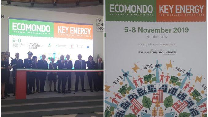 Cérémonie d'inauguration du salon international EcoMondo 2018