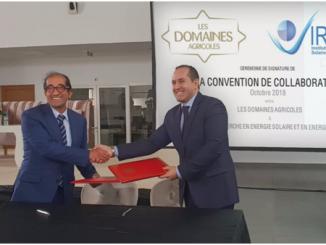 Partenariat entre IRESEN et les Domaines Agricoles pour l'utilisation des énergies renouvelables dans le secteur agricole