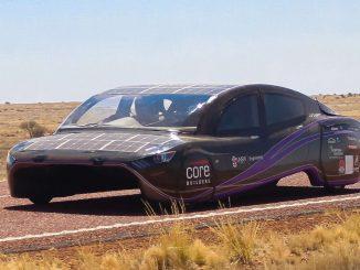 VIOLET : La voiture solaire qui a battu le record mondial d'efficacité énergétique