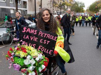 Paris : De nombreux gilets jaunes ont participé à la marche pour le climat