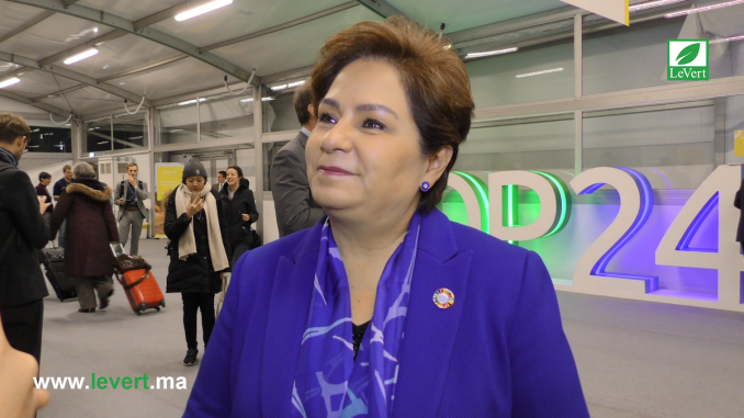 Patricia Espinoza - Négociations à la COP24