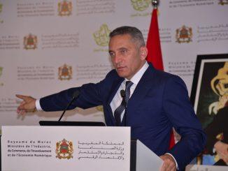 Moulay Hafid Elalamy, ministre de de l'Industrie, du commerce, de l'investissement et de l'économie numérique