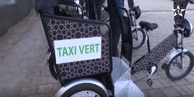 Environnement : Rabat se met en vert et se dote de 50 vélos-taxis