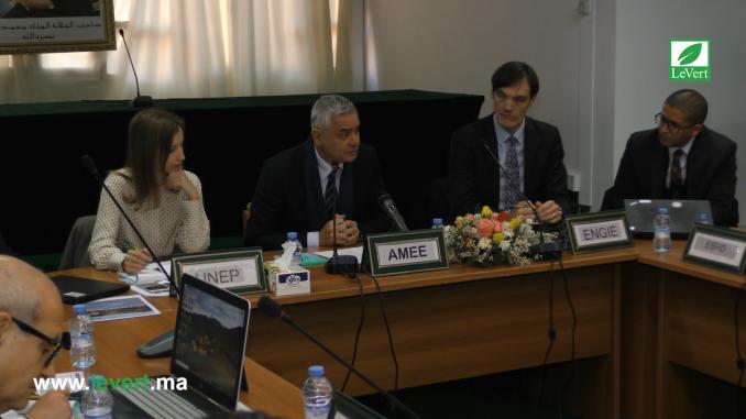 atelier sur la présentation des résultats de l'étude du projet pilote ''District Energy Project Activities in Morocco''